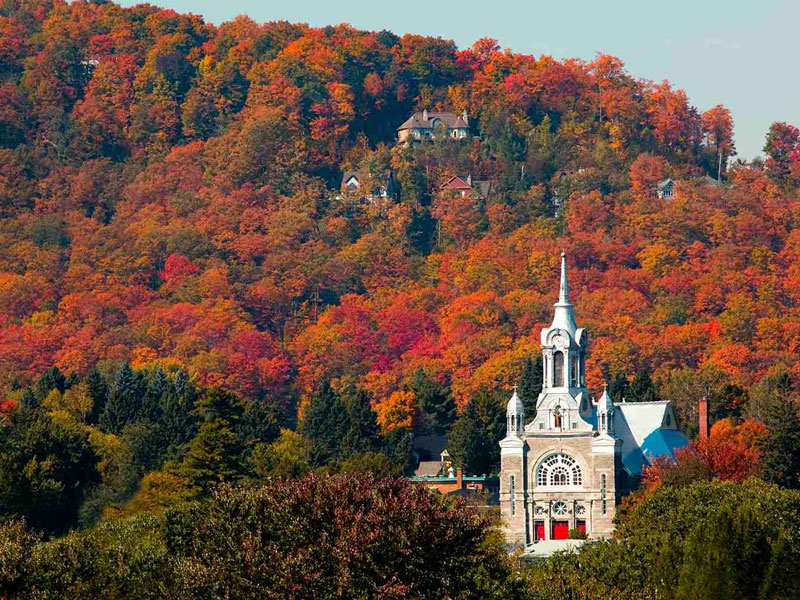 Montreal & Quebec Cities by Rail   Tremblant
