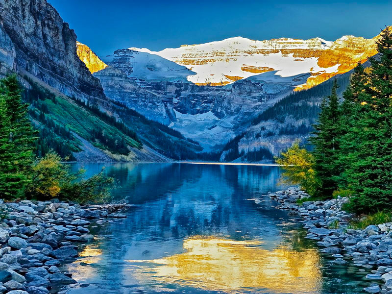 Alpine Canadian Train to the Rockies | Lake Louise
