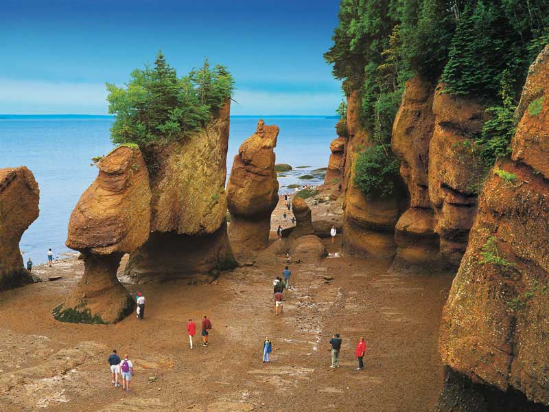 Bay of Fundy, PEI & the Cabot Trail Road Trip | Hopewell Rocks Bay of Fundy