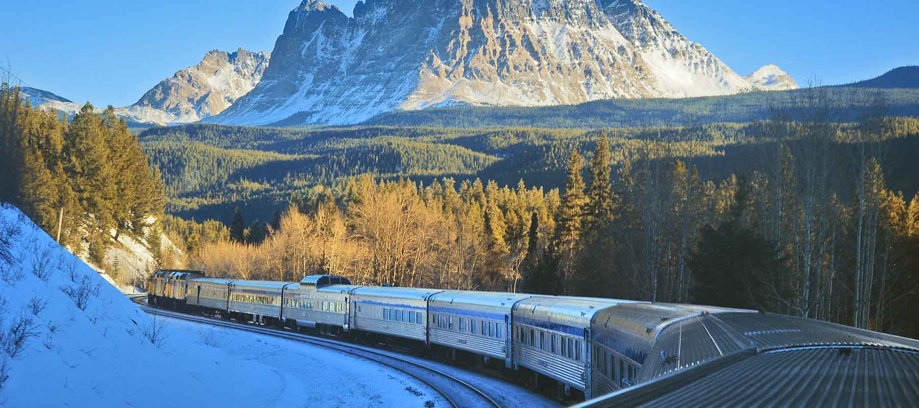 Canada By Design Vacations | Snow Train to the Rockies