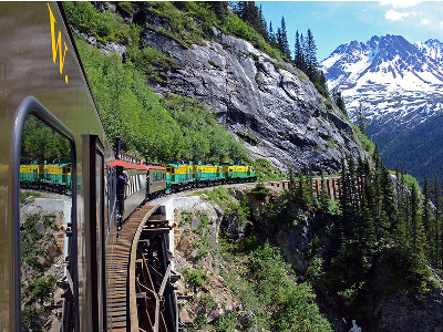 Canadian Rockies & the White Pass Yukon Railroads