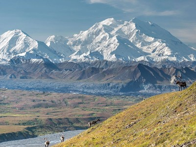 Canadian Rockies Train Combo Circle Tour with Alaska Denali Cruise Tour