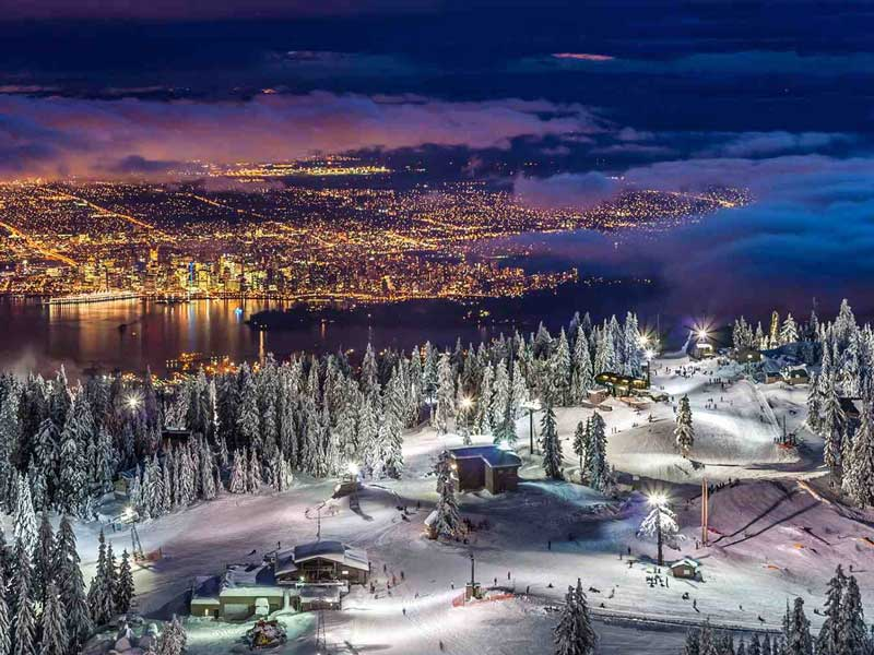 Christmas in Whistler | Fairmont Chateau Whistler | Vancouver from Grouse Mountain
