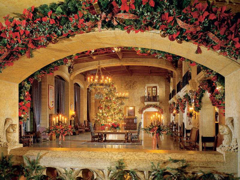 Christmas in the Canadian Rockies Winter Train Vacations | Fairmont Banff Springs Hotel