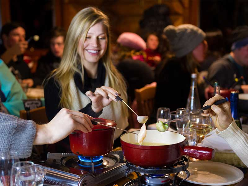 Christmas in Whistler | Fairmont Chateau Whistler | Mountain Top Fondue