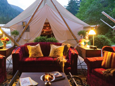Clayoquot Wilderness Lodge | Canadian Rockies Train Trip Combo