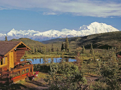 Denali Backcountry Highlights Mt McKinley, Denali National Park