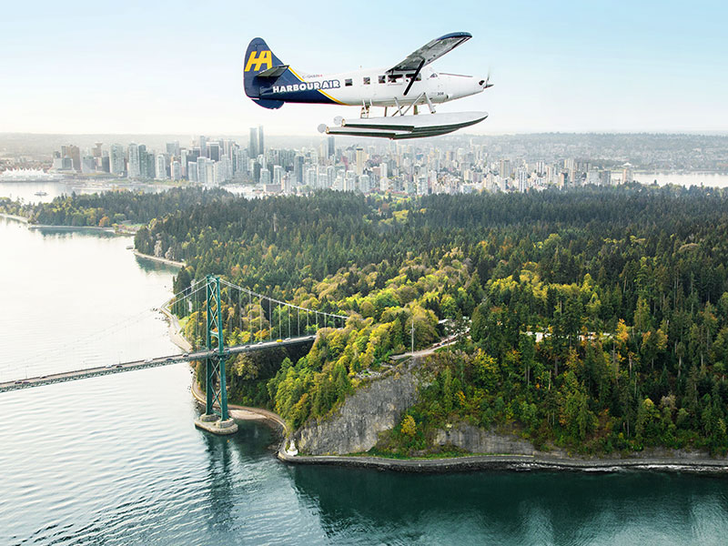 Victoria with Whales and Floatplane Package | Floatplane of Stanley Park Vancouver