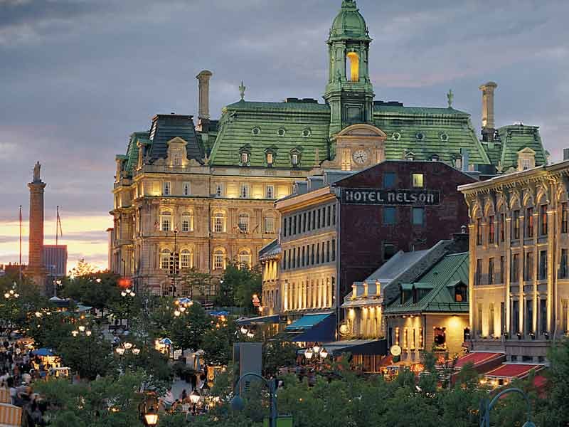 Eastern Canada Train Tour of the Capital Cities | Montreal