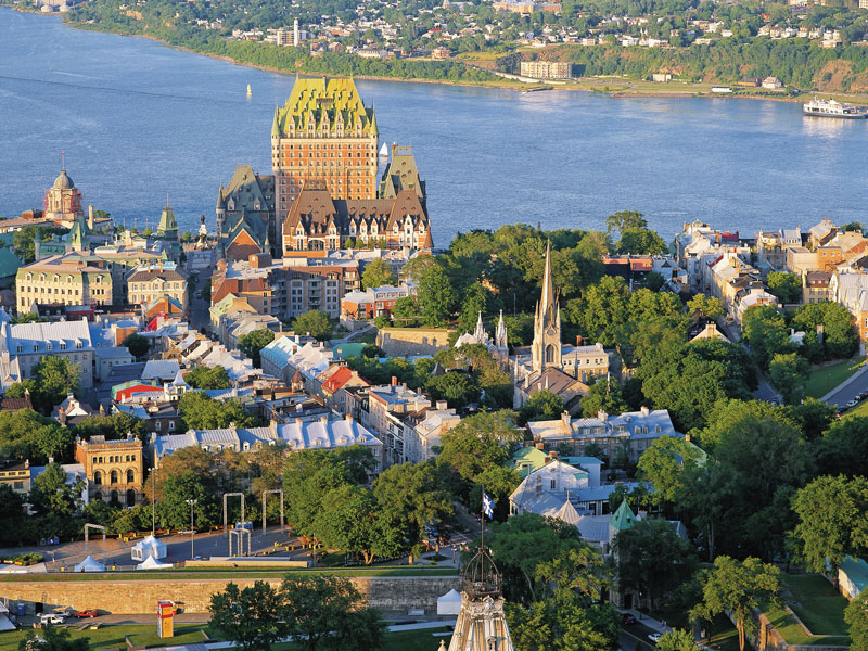 Eastern Canada Train Tour of the Capital Cities | Quebec City