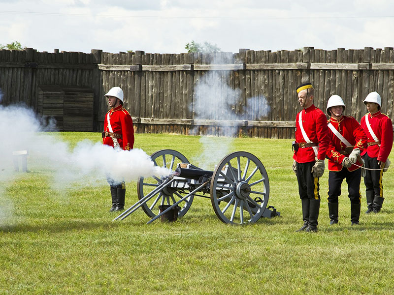 Golden Prairies and Canadian Rockies Road Trip - Fort Battleford National Historic Site