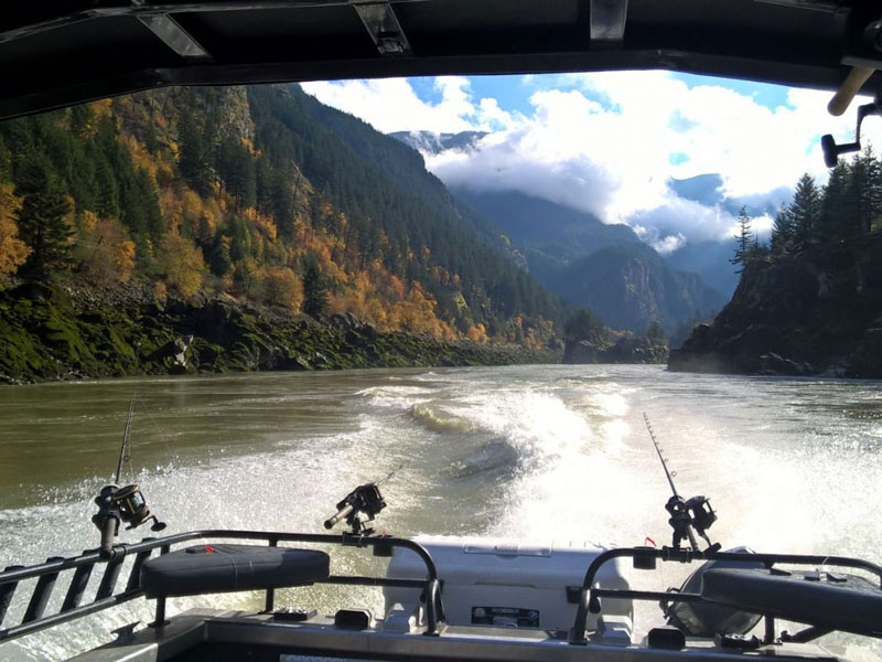 Guided Sturgeon Fishing Package | Fraser River Fishing Lodge