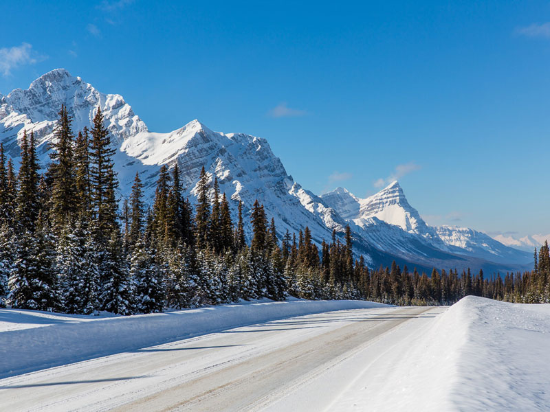 Luxury Snow Train to the Canadian Rockies | Icefield Parkway between Jasper & Lake Louise
