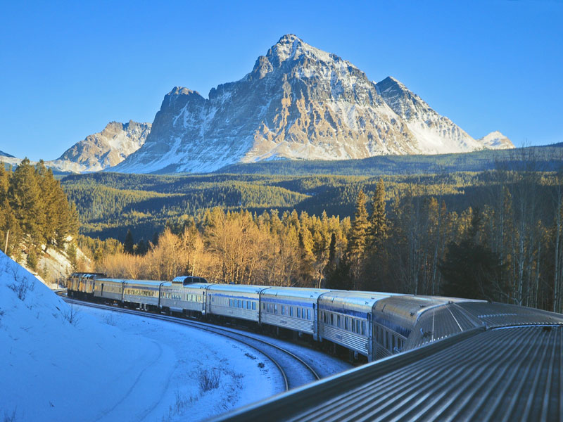 Luxury Snow Train to the Canadian Rockies | VIA Rail