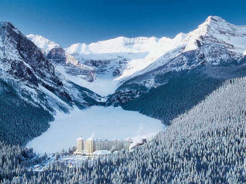 Luxury Snow Train to the Canadian Rockies | Fairmont Chateau Lake Louise
