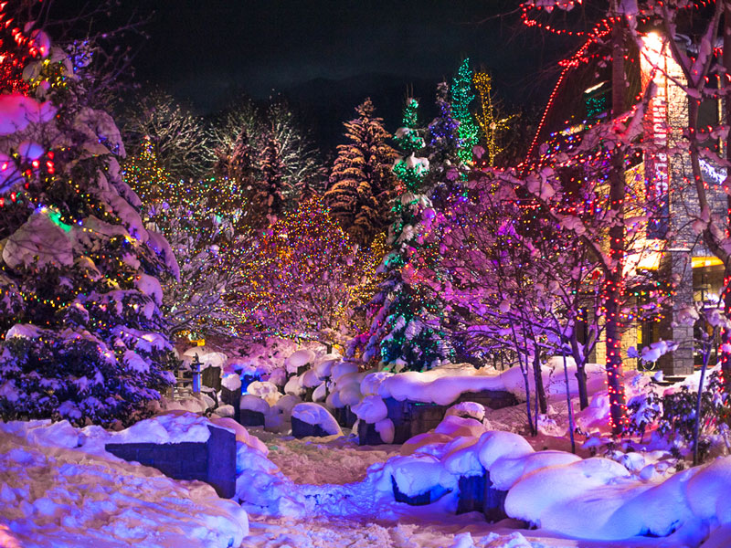 Magic of Christmas in Whistler at the Fairmont Chateau Whistler