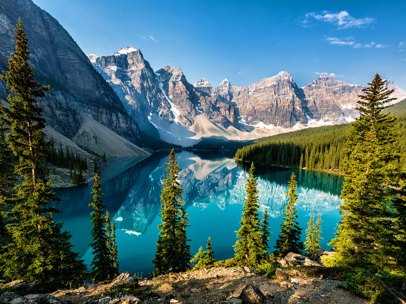 Luxury Train to the Canadian Rockies | Moraine Lake