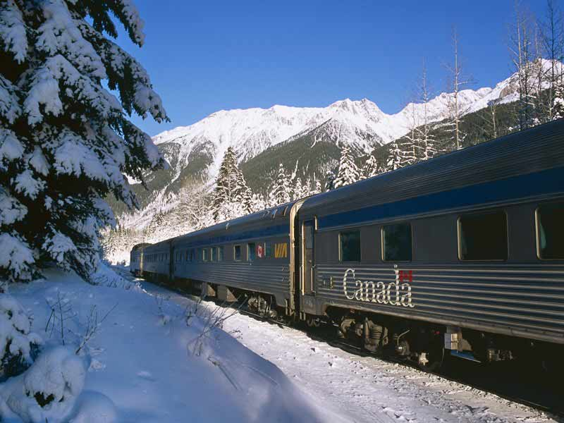 Winter Snow Train to the Canadian Rockies | VIA Rail