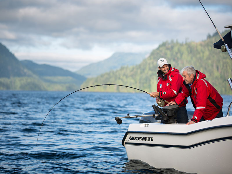 Salmon Fishing Package West Coast Canada | Sonora Resort