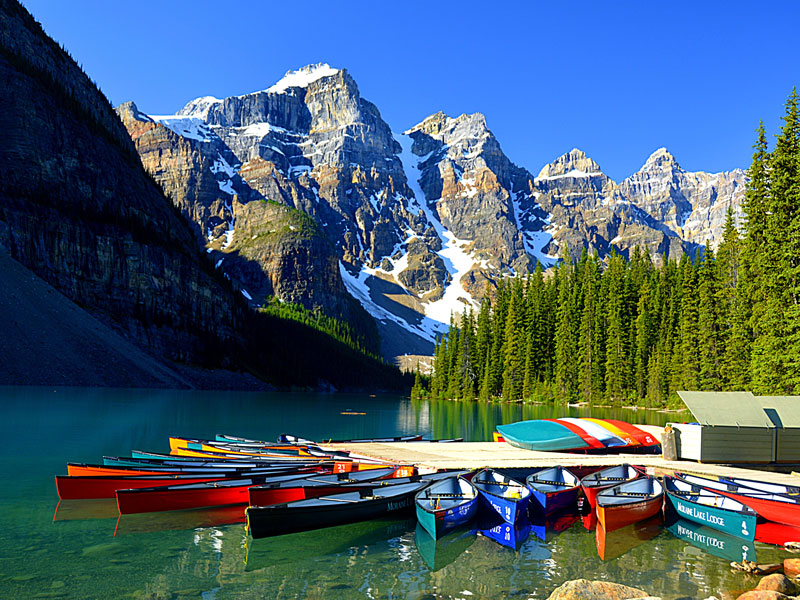 Spectacular Lodges of the Canadian Rockies Road Trip | Moraine Lake Lodge