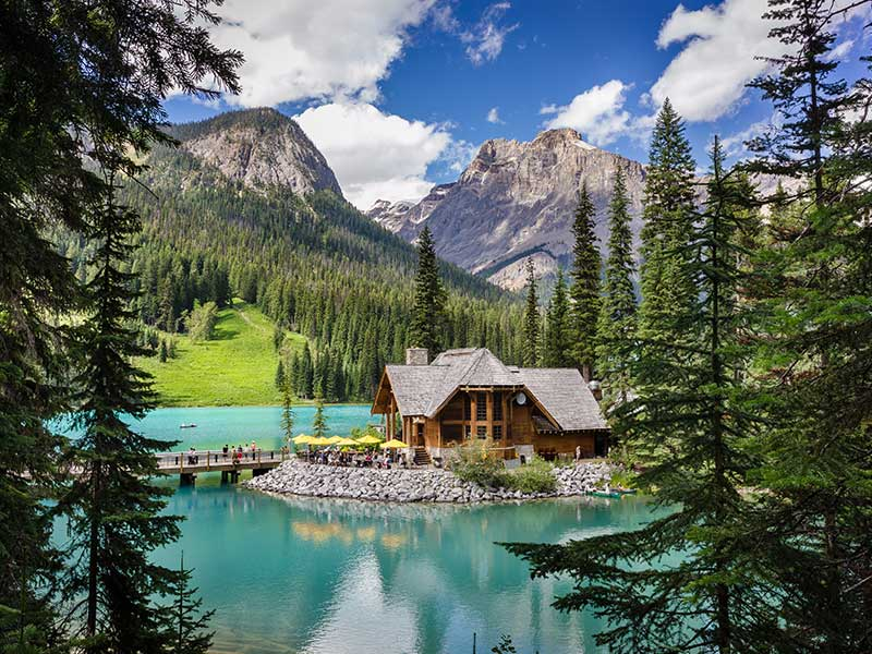 Spectacular Lodges of the Canadian Rockies Road Trip | Emerald Lake Lodge