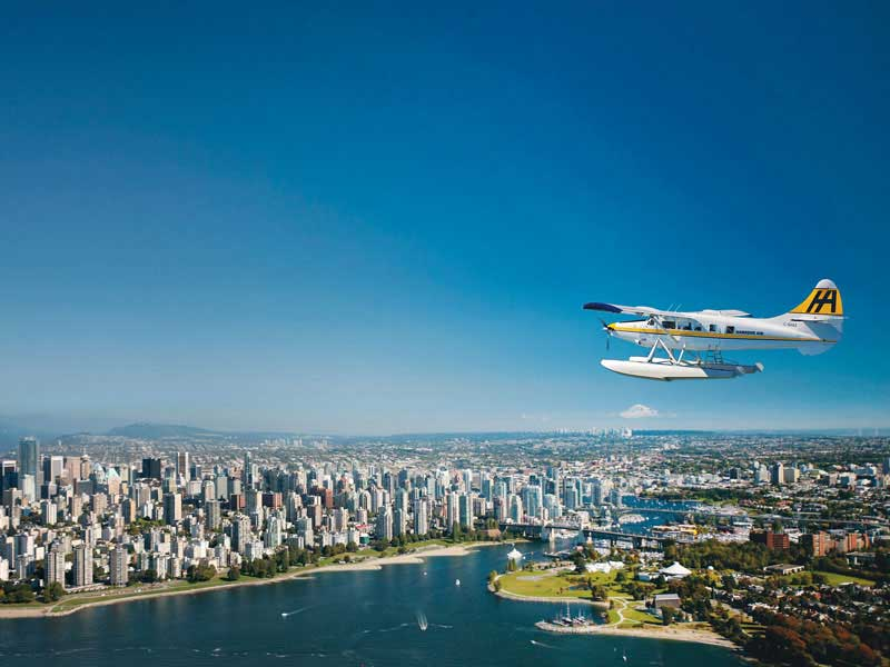 Vancouver & the Canadian Rockies Rail Vacation | Harbour Air Vancouver