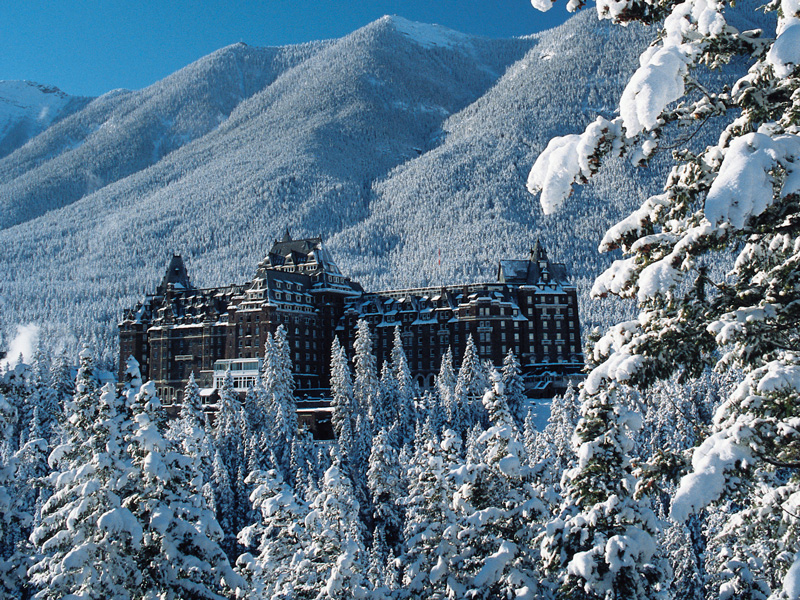 Canadian Rockies Winter Train Vacation | Fairmont Banff Springs Hotel