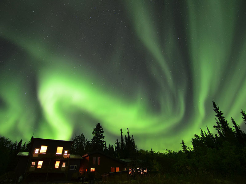 Yukon Northern Lights Tour | Adventure and Relaxation